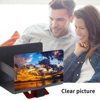 Cell Phone Mounts & Holders Mobile Screen 3D Magnifying Glass Desktop Holder Video Holde