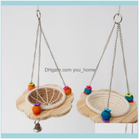 Pet Supplies Home & Gardencotton Rope Bird Breeding Nest Hanging Rest Bed Swing Hammock Canary Finch Lovebird Small Parrot Cage Hatching Box