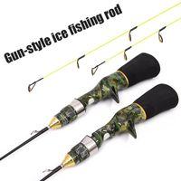 Boat Fishing Rods Baitcasting Rod Winter Ice Travel Sea Pole Mini Tackle Gear
