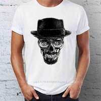 HIP HOP MEN Camisetas con Heisenberg Skull Dark Walter White Breaking Bad Street Guys Tops Tees Swag 100% algodón Camiseta 210420