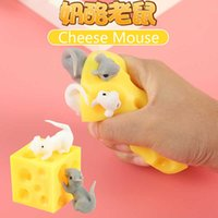 Mouse and Cheese Toy Sloth Hide Seek Stress Relief Stressbusting Fidget for Special Needs Adhd Autism