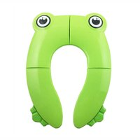 Creative Baby Folding Potty Seat toddler portable Toilet Training Covers children urinal cushion kids pot chair pad mat