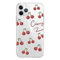 2021 cherry bear zoo Cell Housing sprotection soft transparent stock clear UV printed customizable phone case with design