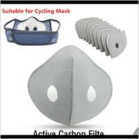 Designer Active Carbon Geeignet für Gesichtsmasken 5layer Filter Radfahren Equip Outdoor Antidust PTOtive Filter HA1272 WW70S TFKI2