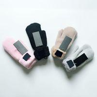 Зимние перчатки Дизайнер Бренд Дизайнер Перчатки Мода Женщины Мужчины Роскошные Открытый Спорт Теплые Зимы Лыжи Гловка