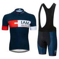 Iam Cycling Suit Mountain Road Bike manica corta uomo e team femminile