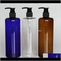 Soap Dispenser Bathroom Accessories Bath Home Garden Drop Delivery 2021 500Ml Empty Liquid Cosmetics Packaging Bottles Pet Plastic For Pump S