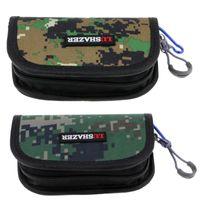 Cuchara de pesca señuelos Tackle Bag Bolsteet Caits Caja de almacenamiento Metal Jigbait Jig Accesorios