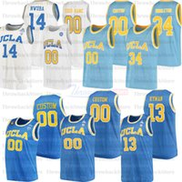 Custom Ucla College Basketball Jerseys 0 Westbrook 3 Johnny Juzang 5 Smith 55 Kiki Vandewege 42 Love 14 Lavine