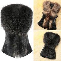 Women's Fur & Faux 2021 Winter Warm Waistcoat Coat For Women Vest Jacket Comfortable Sleeveless Gilet
