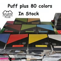 Puff Plus Disposable E- cigarettes Device 550mAh Battery 800 ...
