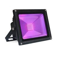 Proiettori 10/20 / 50W LED Black Light Light Blacklight Purple Flood with Plug IP66 Impermeabile NEON Glow per la festa