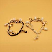 Мода Творческие Женщины Аксессуары Ювелирные Изделия Ручной Веревки натуральные Браслеты Очаровывают браслет