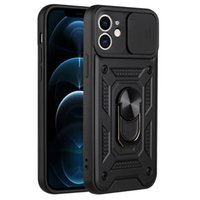 Kickstand Case with Finger Ring Holder Shockproof Phone Cases Cover Camera Lens Protection for iPhone 13 Pro Max 12 11 7 8 Plus XS XR