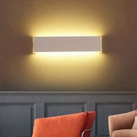 Wall Lamp 2.4G RF Remote Control Dimmable LED Light For Bedroom Beside Living Room Stairway Foyer Dining