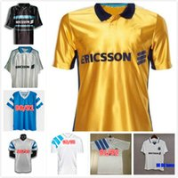 Retro Classic 1990 1991 1992 1993 1998 Marselha Futebol Jerseys Olympique de 92/93 DESAILLY CAMISETA S-2XL