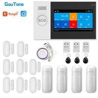 Gautone PG107 4.3inch Sicherheitsalarm WiFi GSM Alarmanlage für Home Support Tuya App Anruf / SMS Remote ContorL Compatible Alexa1