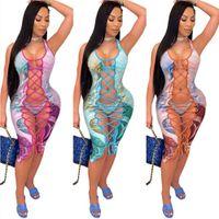 Designers Women Summer Dress Mini Skirt Sleeveless One Piece Dress Party Nightclub Plus Size Womens Clothing
