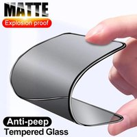 Ceramic Matte Privacy Glass For iPhone 12 13 11 Pro Max 6 6S 7 8 Plus SE Screen Protectors X XS XR Soft Protective Film