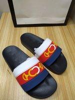 Hombre para mujer Sandalias de verano Slide Slide Slippers Cómodo Material Material Flat Sculfs Slides Fashion Foam Corredor Zapatos Patrón Imprimir Suela de Ruega Sandalia