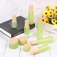 Storage Bottles & Jars 1pc Spray Bottle Beauty Empty Amber Glass Container Travel Refillable Makeup Face Cream Lip