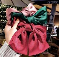Big Bows Hair Clips Women Girls Headband Fashion Korean Sweet Hairs Accessories 6 colors