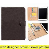 Para iPad Pro11 12.9 Casas de tableta de alto grado PC para iPad10.9 Air10.5 Air1 2 Mini45 iPad10.2 iPad56 Diseñador L Fashion Cuero Tarjeta de la tarjeta Tapa de bolsillo