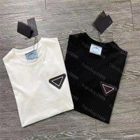 2021 Mens Mode T-shirt Designer Männer Kleidung Schwarz Weiß Tees Kurzarm Damen Casual Hip Hop Streetwear Tshirts