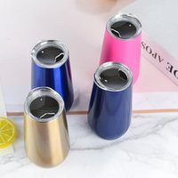 Cute Black Custom Logo Double Wall Stainless Steel Metal Travel Coffee Tumbler Mugs Cups With Straw And Lid Water Bottles