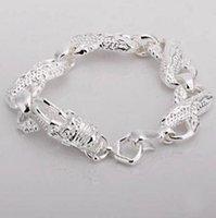 Best-Reading 925 серебряный браслет очарования большие Bayong Unisex мода ювелирные изделия DFF0777