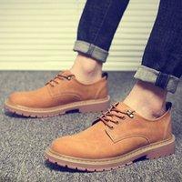 Männer Lässige Mode Stiefel Mann Stiefel Arbeits Sicherheit Schuhe Wasserdichte Männliche Schuhe Freizeit Outdoor Adulte chaussures pour hommes q3ht #