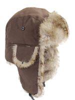 Unisex Homens Mulheres Chapéu Russo Bombardeiro Bombardeiro Orelha Quente Dos Bonés Impermeável Pele de Inverno Forro Esporte Ski Cap Headwear Chapéus
