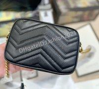 2021 سيدة الحب السيدات مصغرة marmont حقيبة حقائب الصليب الجسم الرمز البريدي الأجهزة 24 كيلو جودة عالية المرأة الأزياء حقائب الكتف حقيبة الصليب الجسم