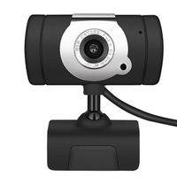 Webcams 640 * 480P Rotatable LED Night Vision Light Alta definição USB webcam com microfone grande compatibilidade 30fps