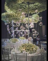 Party Decoration Wedding Candle Holders Metal Candlestick Flower Vase Table Centerpiece Event Rack Road Lead Senyu2185