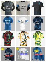 2021 Olympique de Om África Marseille Futebol Jerseys Maillot de Foot Payet Thauvin Homens Kit Kit Futebol Camisas