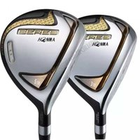 Herrenclubs Honma S-07 Golf 3/5 Loft 2 Sterne Neue Beres Fairway Wood Club R / S Flex Graphitwelle und Kopfhüllen