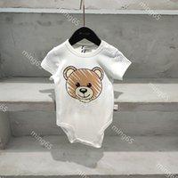 2021ss summer baby rompers designer clothes kids cotton newborns crawling clothing soft skin-friendly newborn high-quality underwear onesies size 55-90