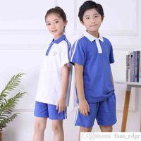 Shenzhen uniforme escola escola primária estudante outono sportswear terno macho e fêmea uniforme uniforme escola shenzhen estudante primário