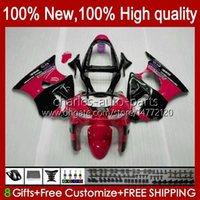 Fairings Kit For KAWASAKI NINJA ZX-6R ZX-636 ZX600 ZX600CC 98-99 Bodywork 16No.20 glossy red ZX-600 600CC ZX636 ZX6R 98 99 ZX 636 600 CC 6 R 6R 1998 1999 Motorcycle Bodys