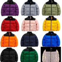 Mens Down Pad Jackets Fashion Trend Winter Long Sleeve Zipper Parkas Coats Designer Male Warm North Thick Overcoat Couples Windbreakers
