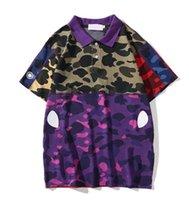 Street Style Mode Mens Lettres Summer Lettres Print Polo Chemises pour hommes Femmes Designer T-shirts Top Tee M-2XL