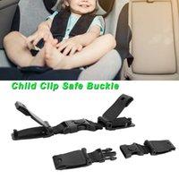 Carro de carro assento no chão cinto clipe segurança cinto cinto fivela ajustável clipe para bebê crianças crianças chicote de arnês bloqueio anti