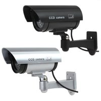 Fake Dummy Camera Waterproof Outdoor Indoor Security CCTV Surveillance With Flashing Red LED Warning Stick IP Cameras