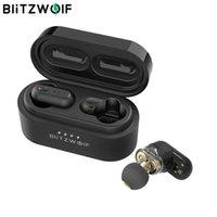 Auricolare Bluetooth TWS [dual Driver Dynamic] Blitzwolf BW FYE7 Auricolari -Compatible in-Ear wireless Pro BASS STEREO Musica HiFi