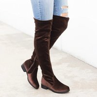 Lasperal Slim Boots Sexy sur les bottes de neige Femmes Sude Femmes Femmes Hiver Cuisse Chaussures Haute Chaussures Femme 29f0 #