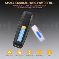Digital Voice Recorder Kebidumei Mini Dictaphone USB Pen U-Disk Professional Flash Drive Audio Micro SD TF Card 32G