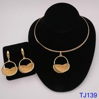 Earrings & Necklace Fashion Jewelry For Women Pendent Romantic Sets Wedding Party Anniversary Gift Trendy