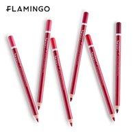색상 매트 립 연필 maquillage long-linking liner 립스틱 섹시 윤곽 펜 아름다움 메이크업 도구 화장품 연필