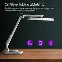 Table Lamps Foldable Lamp USB Intelligent Stepless Dimming Remotely Control Multi Axis Rotation Eye Protection Touch Read